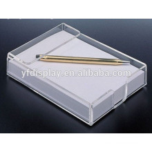Transparent Acrylic Memo Holder Paper Box