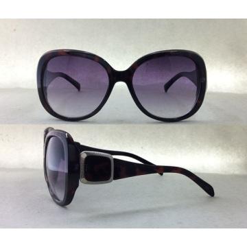 Hochwertige Mode Eyewear Übergroße Sonnenbrille für Lady Traveling P25031