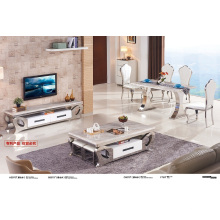Living Furniture Top Marble Coffee Table (A3075)