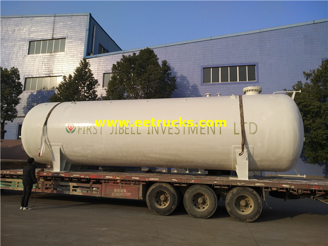 Horizontal Propylene Gas Vessels