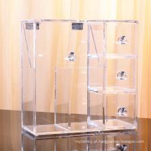 Escovas de coleção de diamantes e mais! Organizador de acrílico