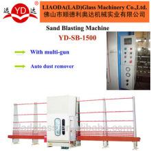 O PLC controla a máquina de jateamento de vidro vertical automática do vidro