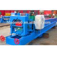 Galvanized Metal Roof Ridge Cap Roll Forming Machine Used Watershed Roofing Panel Making
