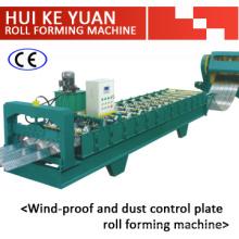 Профилегибочная машина для производства ветрозащиты и пылеподавления
