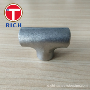 TORICH Welded dan Seamless Stainless Steel Straight Tee