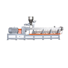 CaCO3 Filler Masterbatch Extruder With Side Feeder