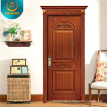 Holzinnenraum mit einfacher Schnitzerei (DS-8001)