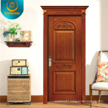 Interior Room Wood Door with Simple Carving (DS-8001)