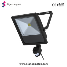 2016 China Slim COB 50W PIR LED Floodlights with CE RoHS
