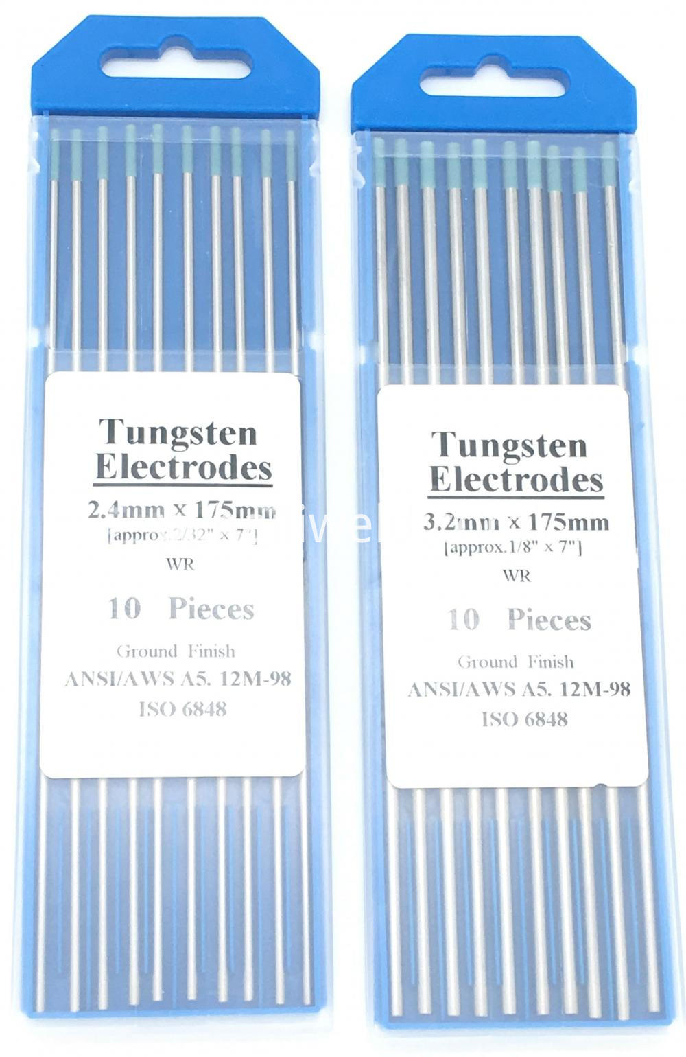 Wr Tig Welding Tungsten Electrodes Replaces Ws Tig Rod Tungsten Electrode