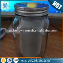 32oz 64oz 2 Quart Mason Jar Cold Brew Coffee Maker Stainless Steel Wire Mesh Filter Tube