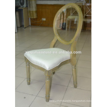 French antique solid wood dining chair vintage style oak chair XYN81