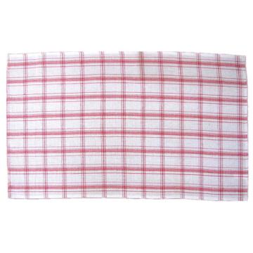 Tapa de tabla clasificada de la toalla de té del color de Checkweave