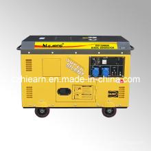 10kw Luftgekühlter Zweizylinder Dieselgenerator (DG15000SE)