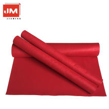 Breathable felt sheet floor protection wool felt
