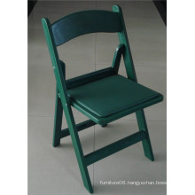 Green Outdoor Garden Plastic Chair for Party
