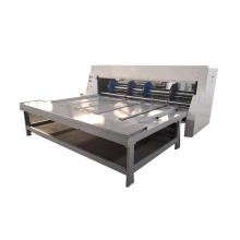 Semi automatic rotary slotting cutting machine for corrugated cardboard