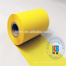 Derniers produits fabriqués étiquettes de soin en tissu tissu en résine code-barres ruban