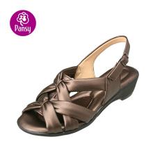 Анютины глазки комфорт обувь антибактериальные & дезодорант летом сандалии для женщин