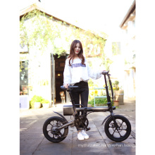 MINI ebike 250w 36volt 16inch foldable frame electric bike with LCD display Front light