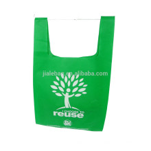 custom cheap non woven T shirt bag