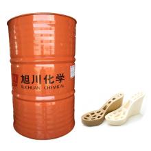 matériau en résine de polyuréthane pour les sandales à lanières de coulée