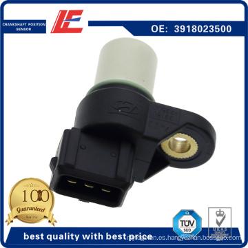 Auto Sensor de posición del cigüeñal Sensor del sensor de velocidad del motor Sensor del indicador Rpm 3918023500, 3918023910, J5660300, V52-72-0092 para Hyundai, KIA
