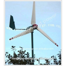 turbinas/gerador de energia de vento 600w