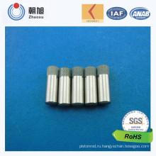 Фабрика ISO подвергая механической обработке точность пружинных фиксатора