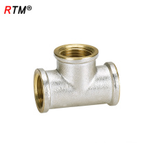 B17 4 12 3 way brass fitting female tee adapter pipe fitting tools name