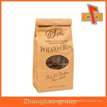 new design kraft paper bag manufacturer in China