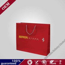 Custom Printing Christmas Gift Paper Packaging Bag