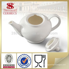 Home Decorative white tableware ceramic kettle and tea pot set for daily use