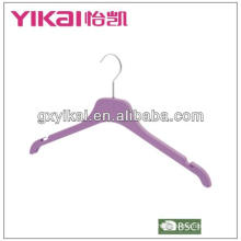 rubber lacquer ABS dress hangers stand with notches