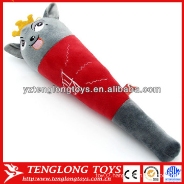 Welcomed in China xiyangyang massage plush stick toys
