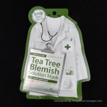 Irregular Shape Facial Mask Bag (MS-FMB016)