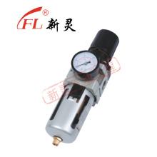 Regulador de presión con filtro neumático Aw4000-04