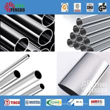Tubería / tubo de acero inoxidable AISI ASTM para decoración