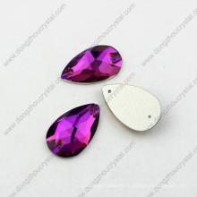 Декоративные формы капли шить на камнях для одежды аксессуары