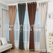New designs modern elegant blackout curtains for living room hotel