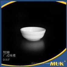 Juegos de la cena de 3.5 pulgadas usan para el plato pequeño de cerámica de China de la comida sana