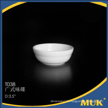 3.5 inch dinner sets use for health food china ceramic small saucer