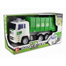 Vehículo de fricción vehículo de juguete de plástico Ciudad camiones (H9970001)