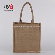 New gift universal blank hemp jute cloth shopping bags