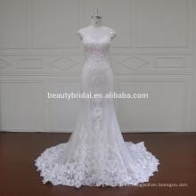 XF16047 musulmanes de cuello alto nupcial sari blusas diseños vestido de novia