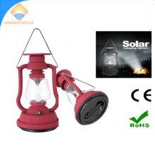 Hand Crank Dynamo LED Camping Light Solar Lantern
