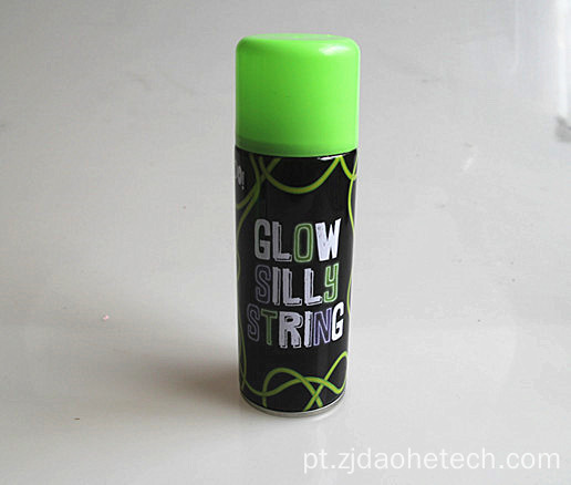 Glow In The Dark Silly String Spray