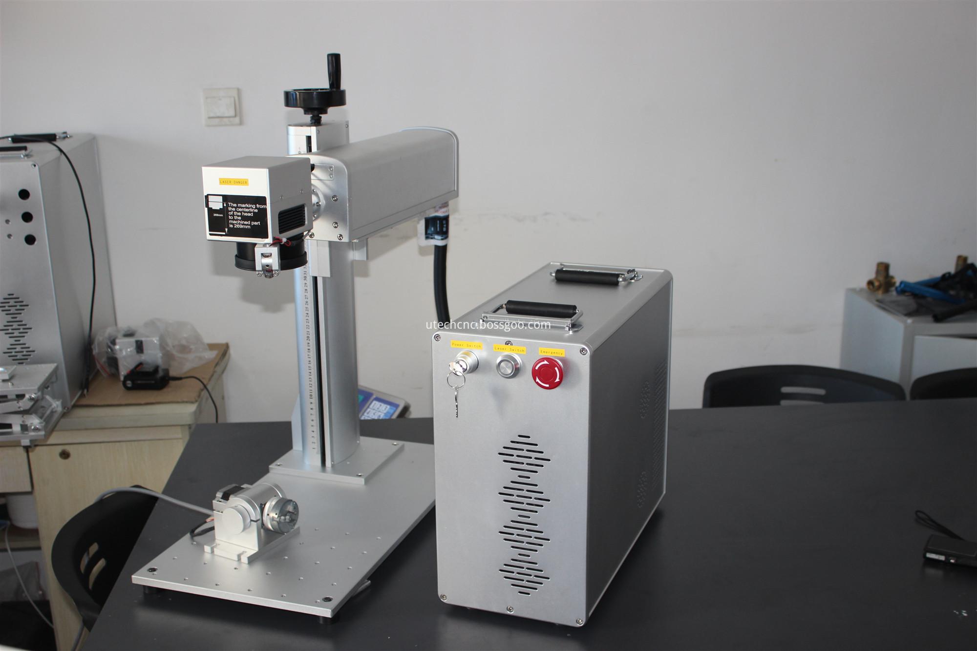 SS fiber laser marking machine
