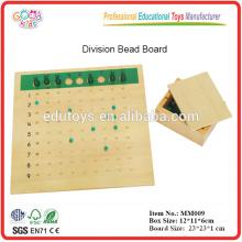 Montessori material Division Bead Board