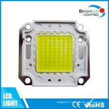 Les diodes de puissance élevée LED Bridgelux / Epistar / l'épi de Genesis LED ébrèche 50W
